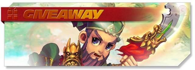 Warlord saga - Giveaway - EN