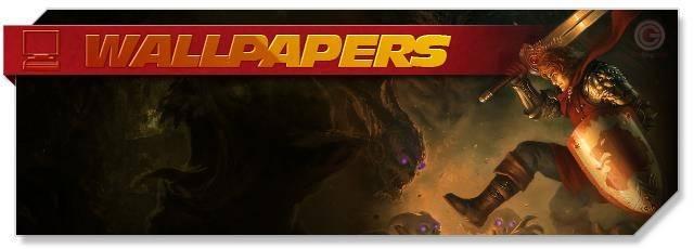 HEX Shards of Fate - Wallpapers headlogo - EN