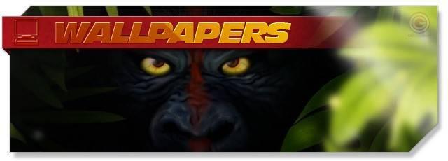 Jungle Wars - Wallpapers headlogo - EN