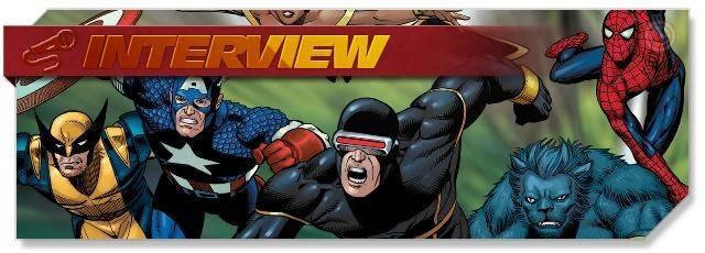Marvel Heroes - Interview headlogo - EN
