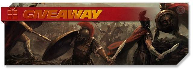 Sparta War of Empires - Giveaway headlogo - EN