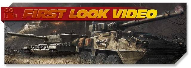 Armored Warfare - First Look headlogo - EN