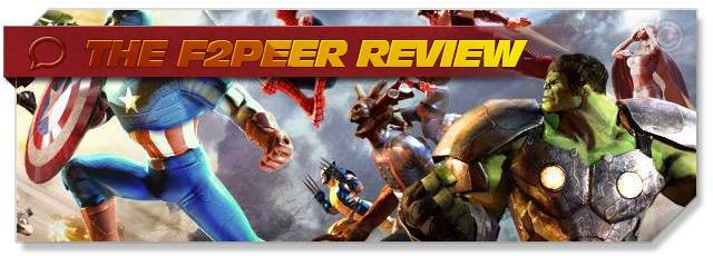 Marvel Heroes 2015 - F2Peer Review headlogo - EN F2P