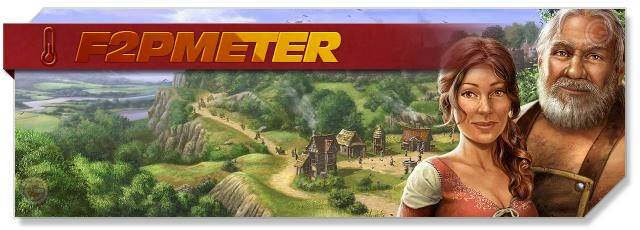 The Settlers Online - F2PMeter headlogo - EN