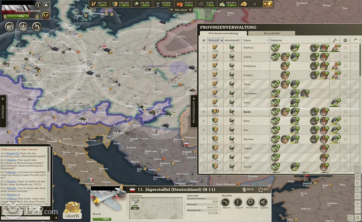 real time online war games