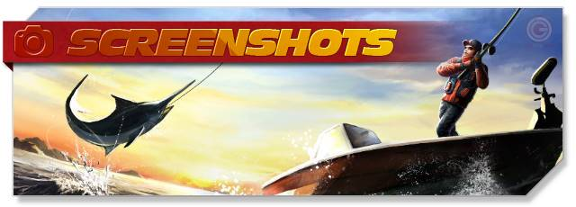 World of Fishing - Screenshots headlogo - EN
