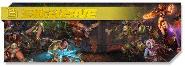 Orcs Must Die Unchained - exclusive headlogo - EN