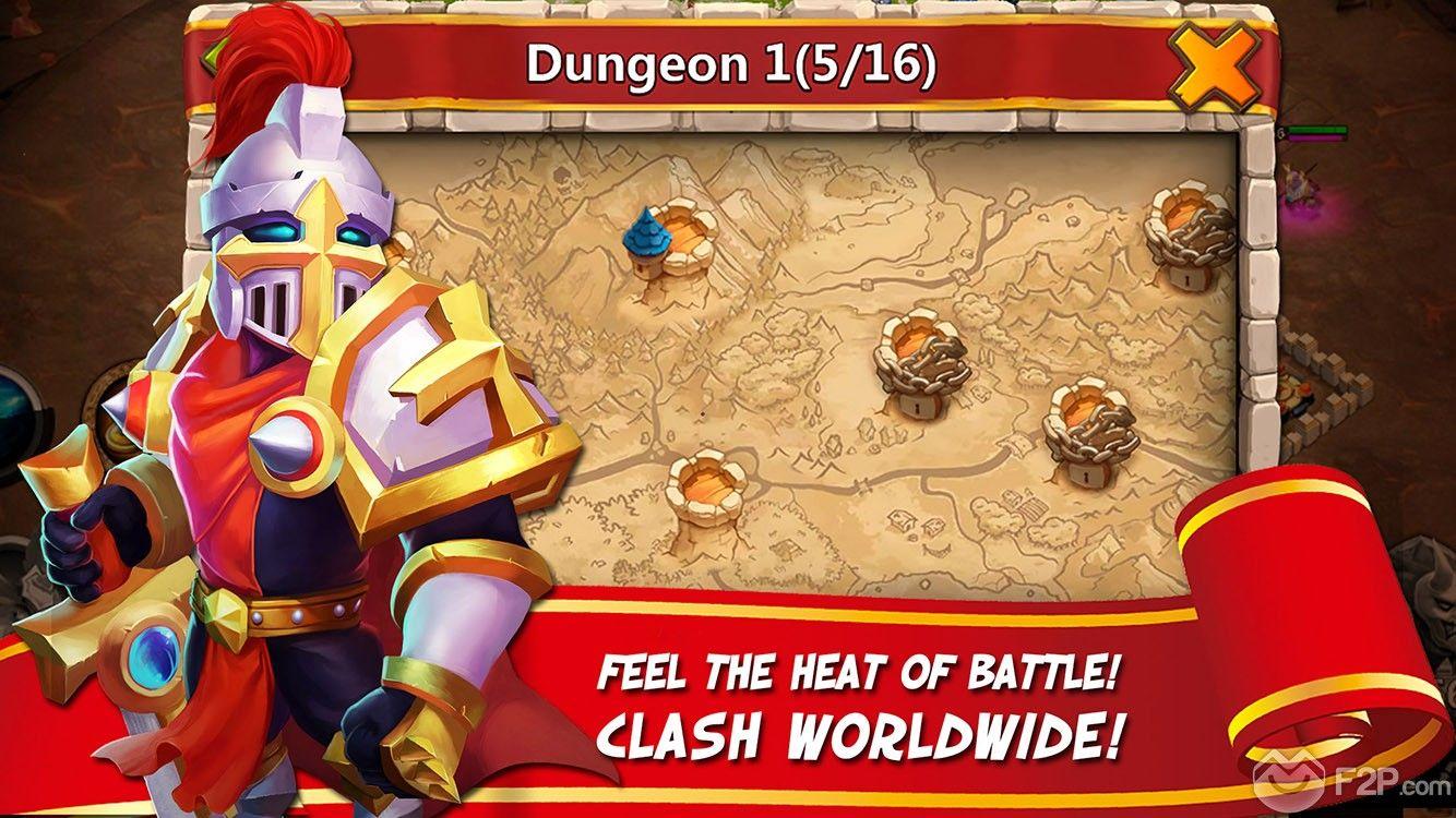 Castle Clash Legendary Hero Giveaway