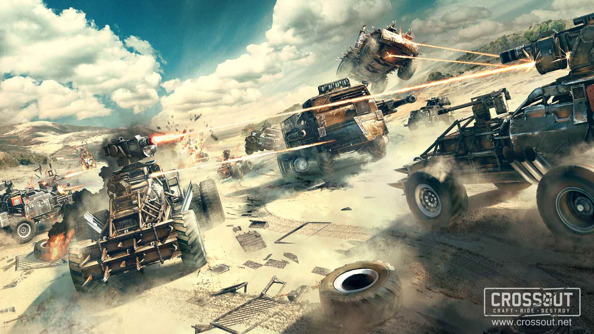 Crossout Wallpapers