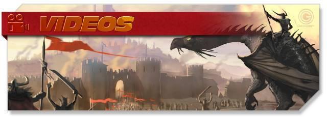 Dragons of Atlantis - Videos headlogo - EN