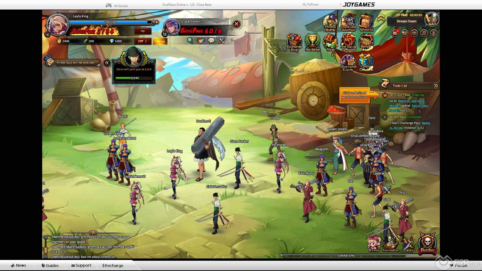 pirate king online 2