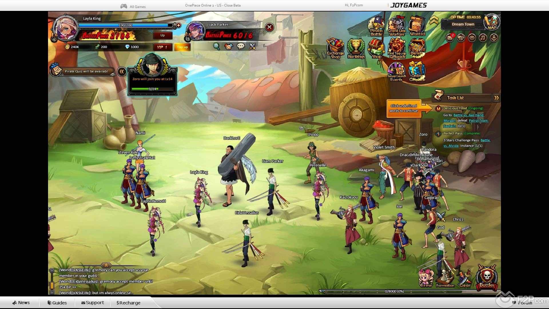d04d51404ff ... One Piece Online 2: Pirate King screenshot 8 ...