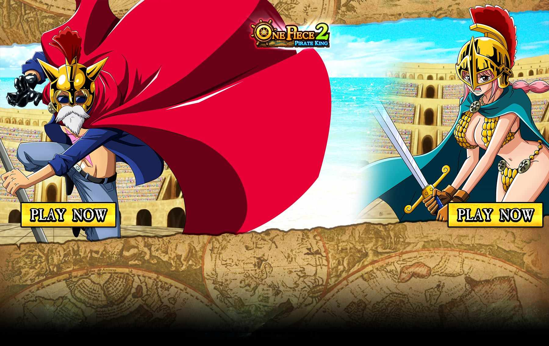 one piece online 2 pirate king wallpapers. Black Bedroom Furniture Sets. Home Design Ideas