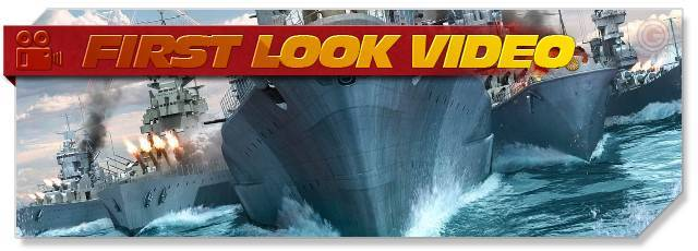 First Look at World of Warships - Review World of WarShips - WoWS Gameplay. World of WarShips GamePlay video on F2P.com, WoWS is a Free-to-Play Action MMO Game.