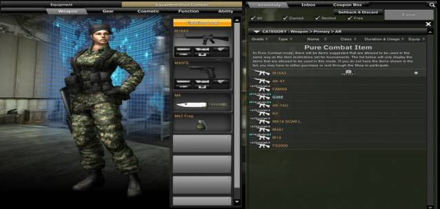 Combat Arms PCM screenshot