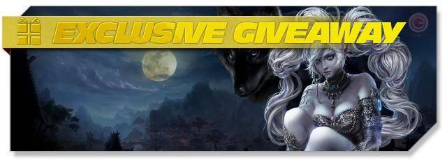 Forsaken World - Giveaway headlogo EN