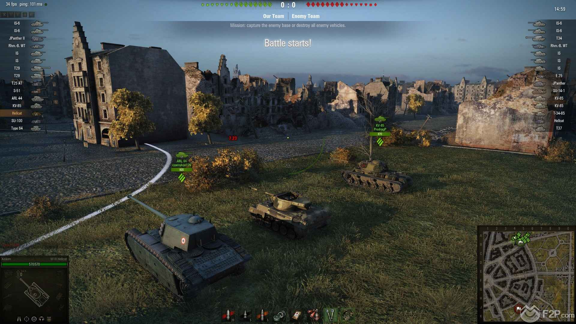 World of tanks про т34