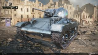 World of tanks Ps4 beta F2P4