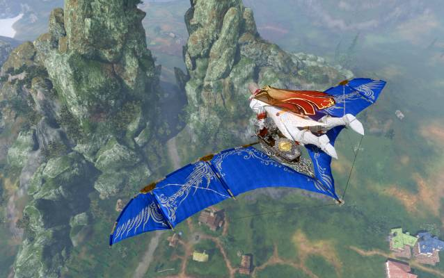 ArcheAge Lapis Fae Wing Glinder screenshot