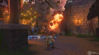 Orcs Must Die Unchained Surrounded map screenshot F2P4