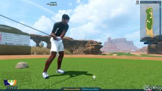 Winning putt screenshot F2P3