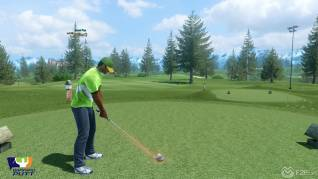 Winning putt screenshot F2P4
