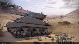 World of Tanks Play Station 4 launch screenshots F2P1