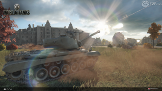World of Tanks Play Station 4 launch screenshots F2P2