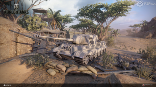 World of Tanks Play Station 4 launch screenshots F2P3