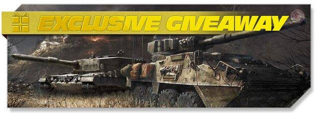 Armored Warfare - Exclusive giveaway headlogo