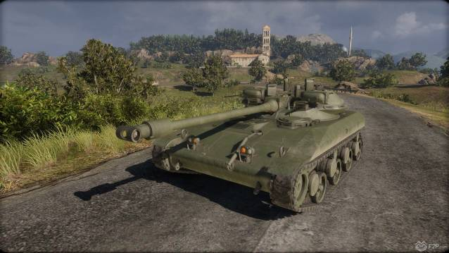 Armored Warfare t92 tank giveaway screenshot f2p 1