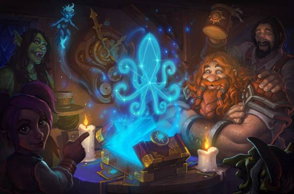 Hearthstone standard mode artwork