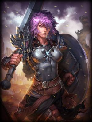SMITE Bellona art
