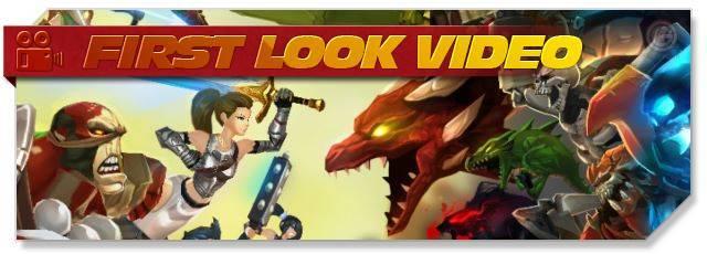 AdventureQuest 3D - First Look headlogo - EN