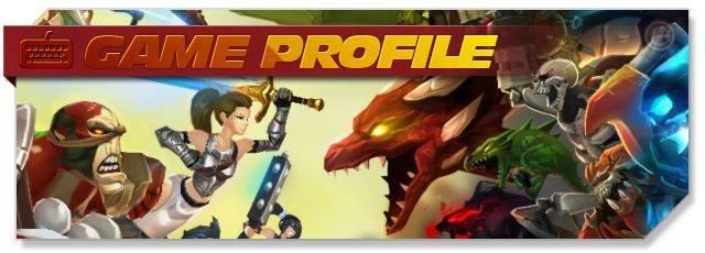 AdventureQuest 3D - Game Profile headlogo - EN