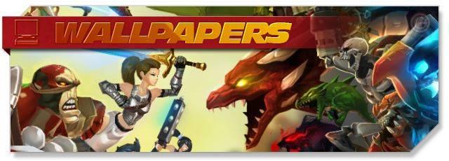 AdventureQuest 3D - Wallpapers headlogo - EN