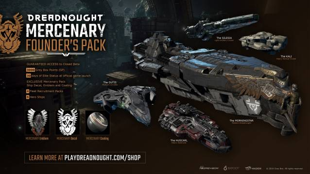 Dreadnought founder packs images 2