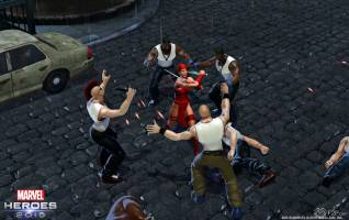 Marvel Heroes 2016 elektra screenshots 1