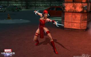 Marvel Heroes 2016 elektra screenshots 2