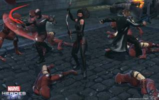 Marvel Heroes 2016 elektra screenshots 4