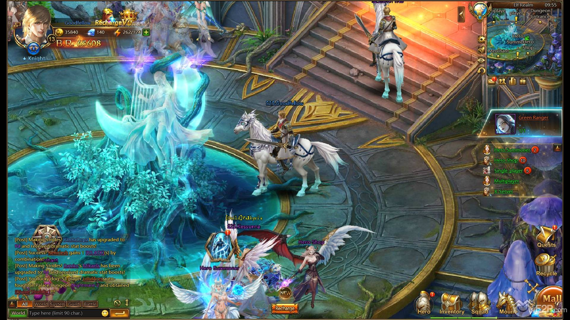 First Impressions on League of Angels 2 review  First Impressio...
