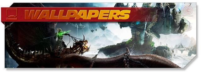 Riders of Icarus - Wallpapers headlogo - EN