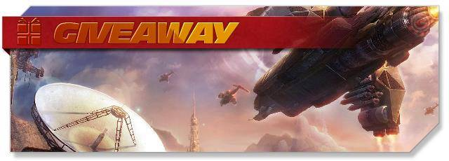 Trinium Wars - Giveaway headlogo - EN