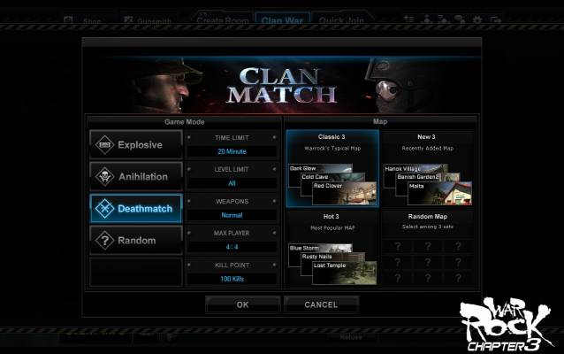 War Rock Clan system image