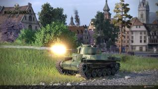 World of Tanks PS4 Chinese tanks shot 1