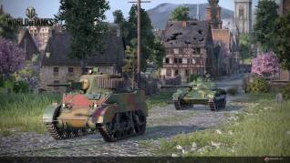 World of Tanks PS4 Chinese tanks shot 2