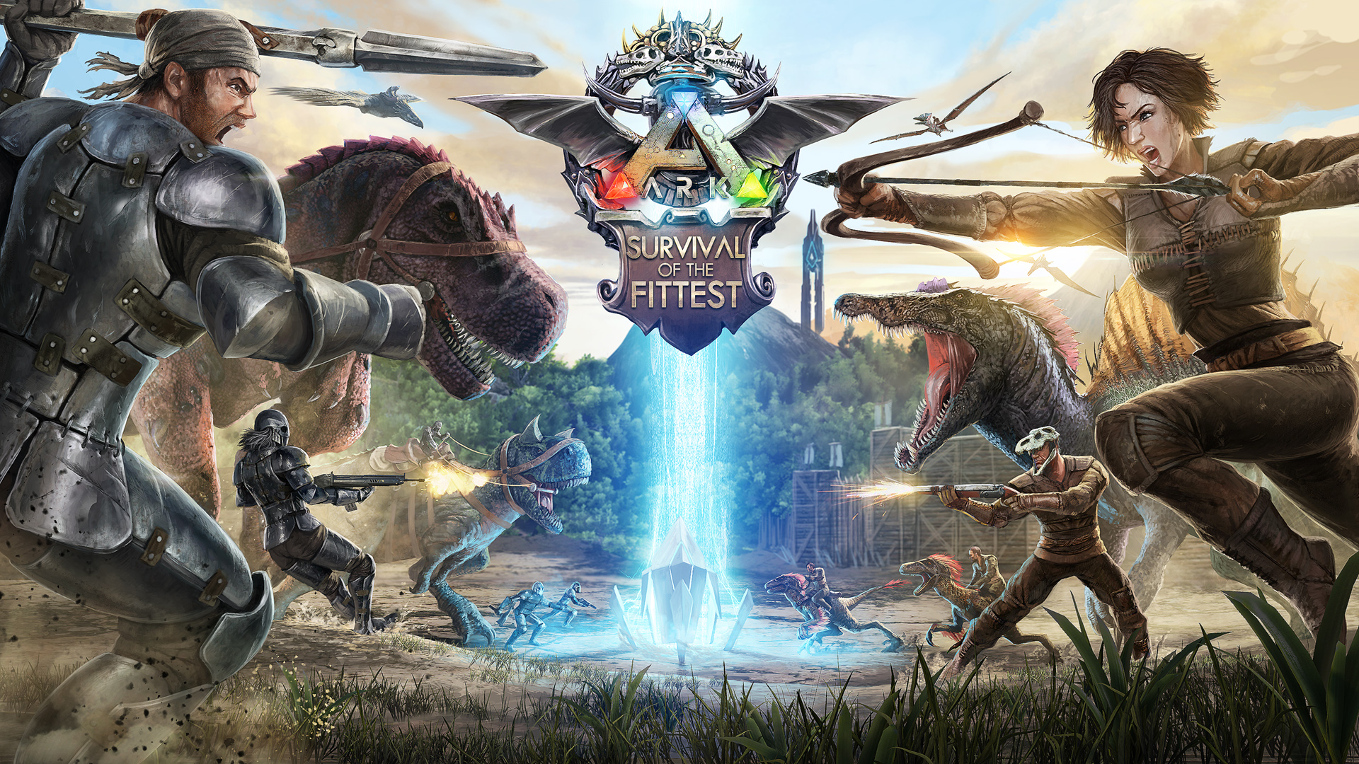 Photo Collection Ark Survival Of The Fit Test Wallpaper
