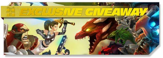 AdventureQuest 3D - Giveaway headlogo - EN