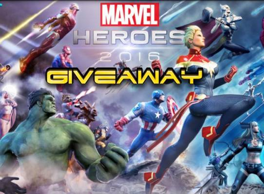 Marvel Heroes 2016 Hero Random Box Giveaway