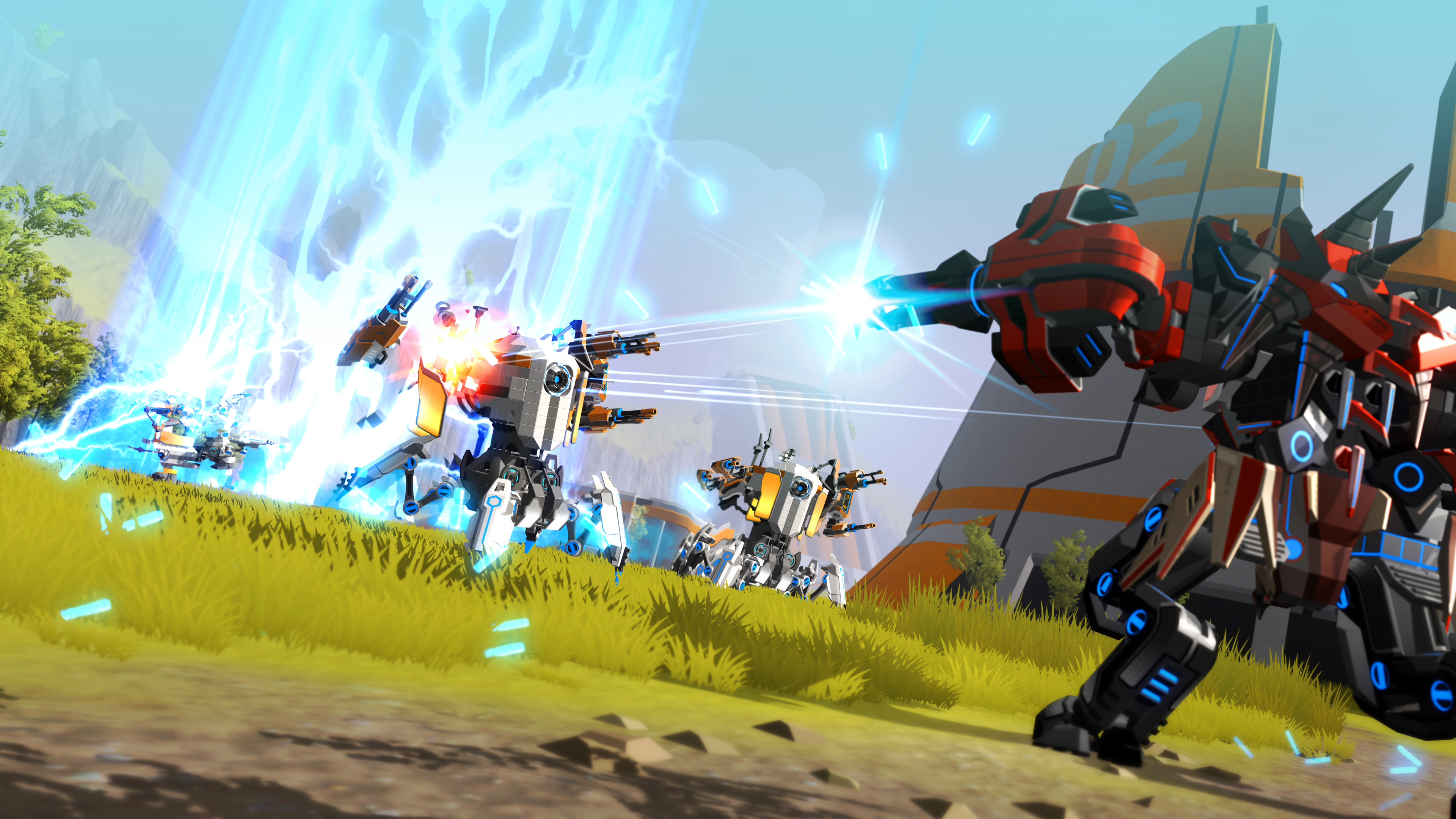 Robocraft Goes Into the Shredzone